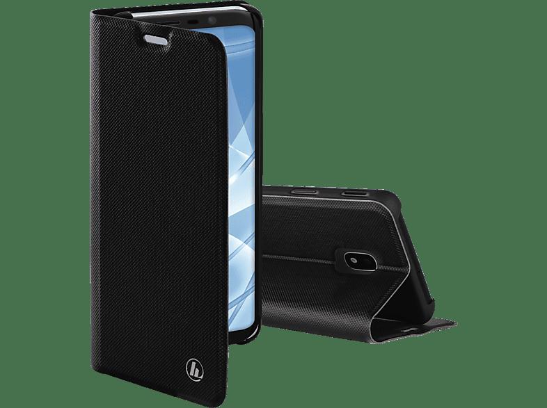 HAMA Slim Pro , Bookcover, Samsung, Galaxy J6 (2018), Polyurethan, Schwarz