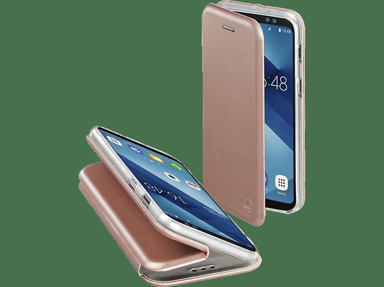 HAMA Curve , Bookcover, Samsung, Galaxy A6 (2018), Polyurethan/Thermoplastisches Polyurethan, Rosegold