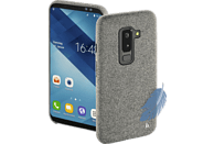 HAMA Cozy , Backcover, Samsung, Galaxy A6+ (2018), Silikon / Textilbezug, Hellgrau