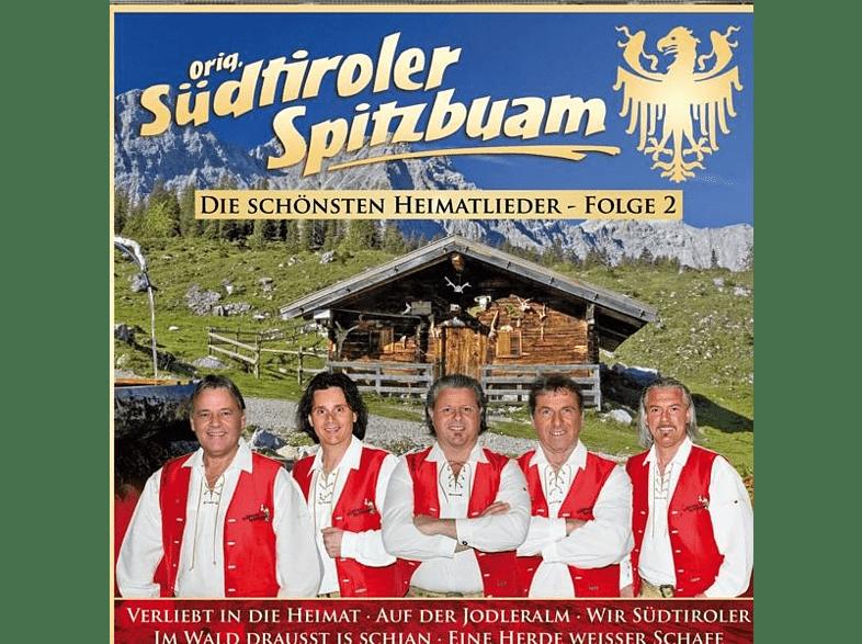 Orig. Südtiroler Spitzbuam - Die schönsten Heimatlieder-F [CD]