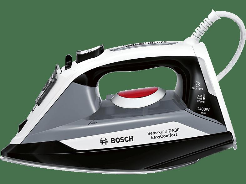 BOSCH TDA30 Easy Sensixx'x EasyComfort Dampfbügeleisen (2400 Watt, CeraniumClissée)