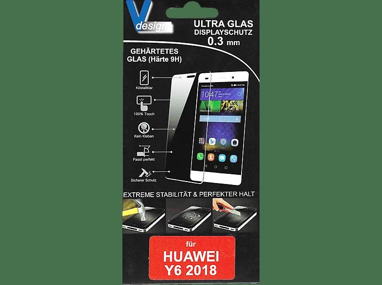 V-DESIGN VF 170 Schutzglas (Huawei Y6 2018)