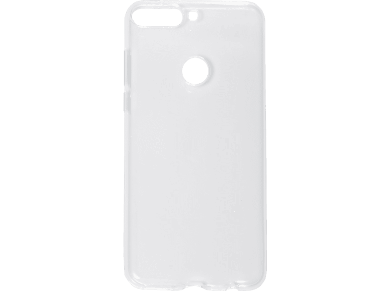 V-DESIGN PIC 175 , Backcover, Huawei, Y7 2018, Thermoplastisches Polyurethan, Transparent