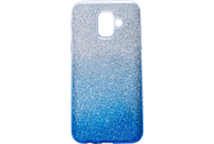 V-DESIGN VSP 052 , Backcover, Samsung, A6 2018, Plastik + Thermoplastisches Polyurethan, Blau