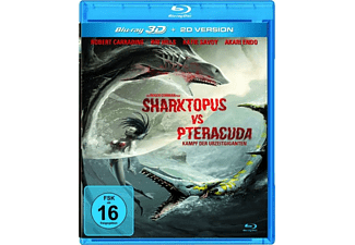 Sharktopus vs. Pteracuda - Kampf der Urzeitgiganten 3D Blu-ray (+2D)