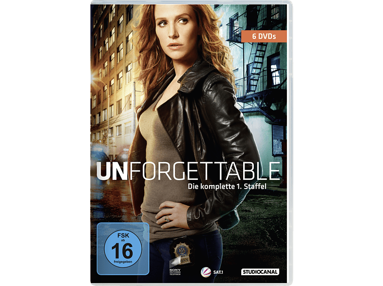 UNFORGETTABLE 1.STAFFEL KOMPLETT [DVD]