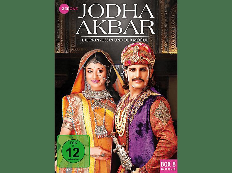 Jodha Akbar - Die Prinzessin und der Mogul (Box 8, Folge 99-112) [DVD]