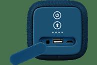 FRESH N REBEL Rockbox Bold M Bluetooth Lautsprecher, Blau, Wasserfest