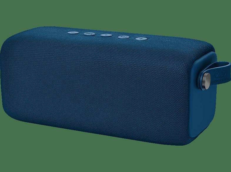 FRESH N REBEL Rockbox Bold L Bluetooth Lautsprecher, Blau, Wasserfest