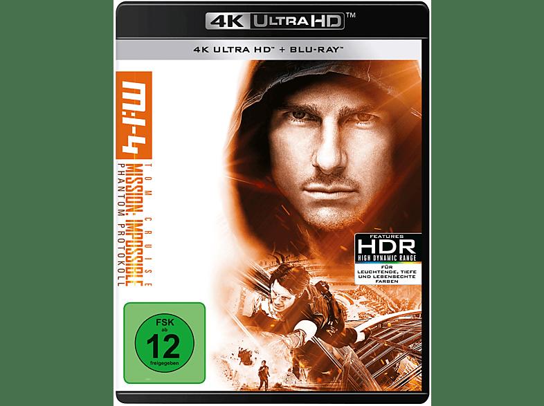 Mission - Impossible 4 Phantom Protokoll Limitiert [4K Ultra HD Blu-ray + Blu-ray]