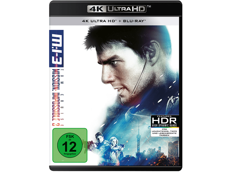 Mission - Impossible 3 Limitiert [4K Ultra HD Blu-ray + Blu-ray]