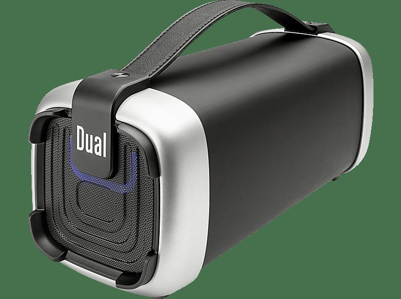 DUAL BT 10 Mobiles Soundsystem, Schwarz