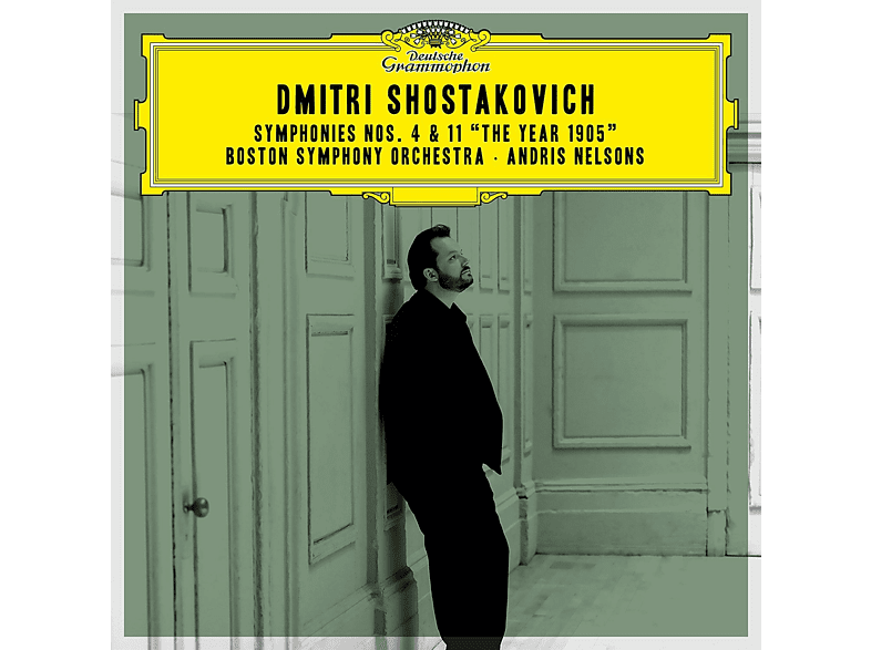 """Andris Nelsons, Boston Symphony Orchestra - Shostakovich Sinfonien 4 & 11 """"The Year 1905"""" [CD]"""