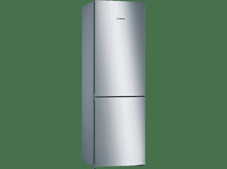 BOSCH KGN36VL4A Serie 4 Kühlgefrierkombination (A+++, 173 kWh/Jahr, 1860 mm hoch, Edelstahl)