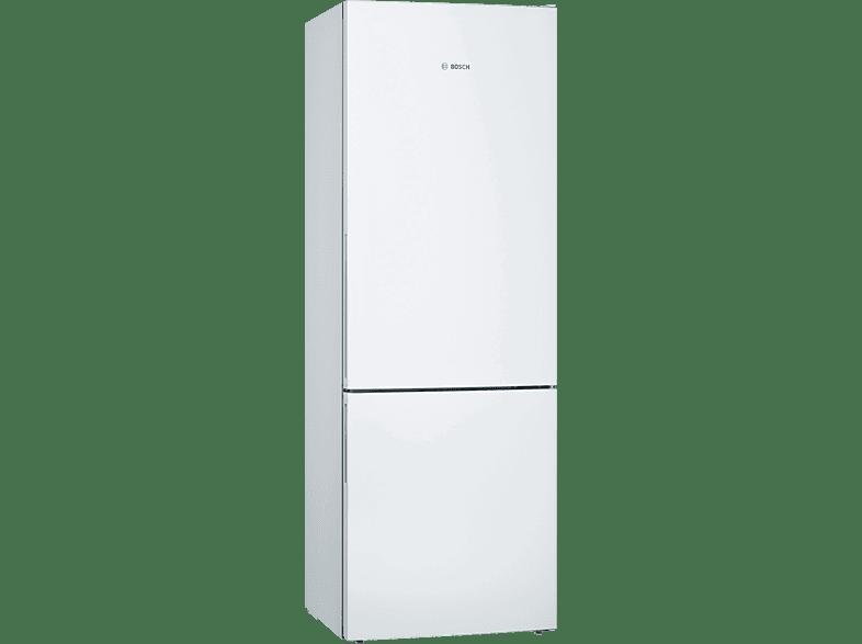 BOSCH KGE49VW4A Serie 4 Kühlgefrierkombination (A+++, 190 kWh/Jahr, 2010 mm hoch, Weiß)