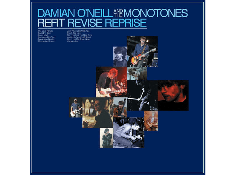 Damian And The Monotones O'neill - Refit Revise Reprise [CD]