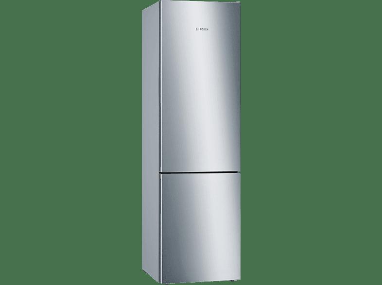 BOSCH KGE392L4D  Kühlgefrierkombination (A+++, 168 kWh/Jahr, 2010 mm hoch, Edelstahl)