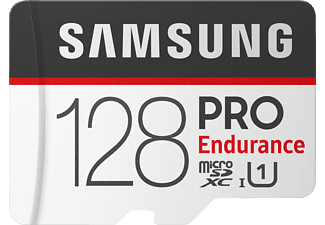 SAMSUNG PRO Endurance, Micro-SDXC, Micro-SDHC Speicherkarte, 128 GB, 100 MB/s