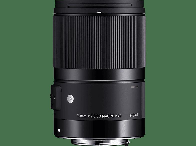 SIGMA 70 mm f/2.8  DG, ASP (Objektiv für Canon EF-Mount, Schwarz)
