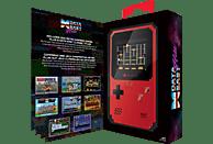 MYARCADE Pixel Classic-Handheld Konsole (300 Spiele) , Spielekonsole, Schwarz/Rot