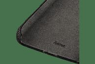 HAMA Cozy , Backcover, Samsung, Galaxy A6 (2018), Silikon/Textilbezug, Schwarz