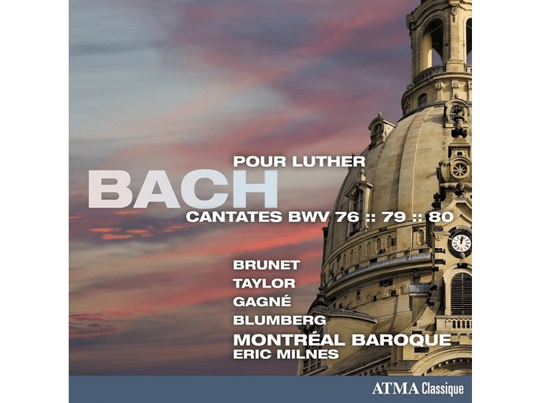 Montreal Baroque - Cantates Pour Luther [CD]