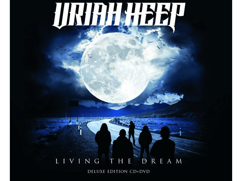 Uriah Heep - Living The Dream (CD+DVD Digipak) [CD + DVD Video]