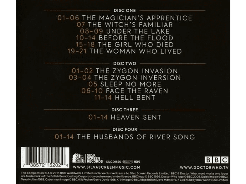 Ost-original Soundtrack Tv - Doctor Who-Series 9 [CD]
