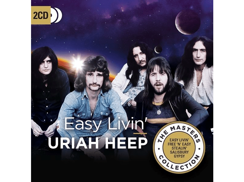 Uriah Heep - Easy Livin' (The Masters Collection) [CD]