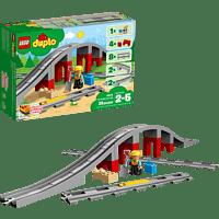 LEGO Eisenbahnbrücke und Schienen (10872) Bausatz, Mehrfarbig