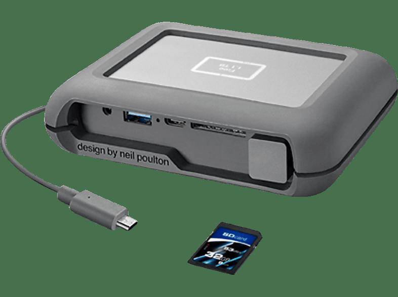 LACIE STGU2000400 DJI Copilot 2 TB USB-C Festplatte