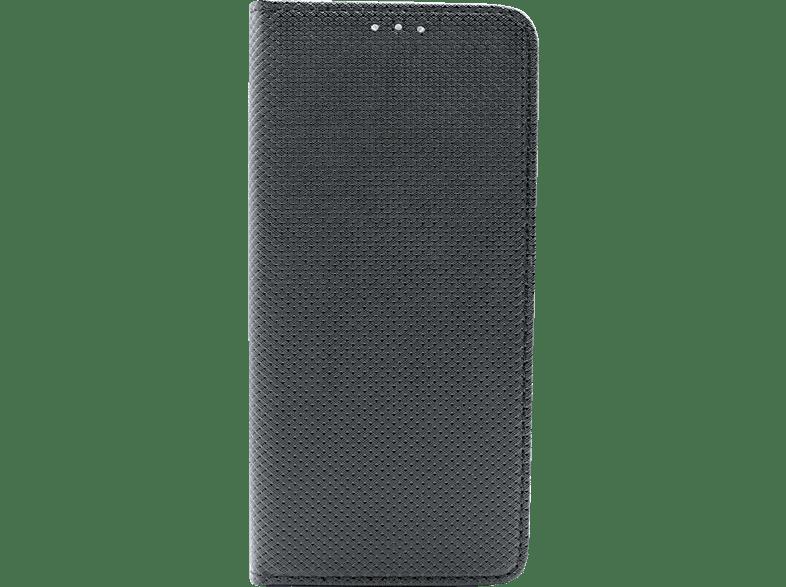AGM 27157 Bookcover Magnet , Bookcover, Huawei, Y6 2018, Obermaterial Kunststoff, Schwarz