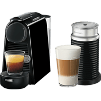 DELONGHI Nespresso Essenza Mini Aeroccino3 EN85.BAE  Kapselmaschine, Schwarz