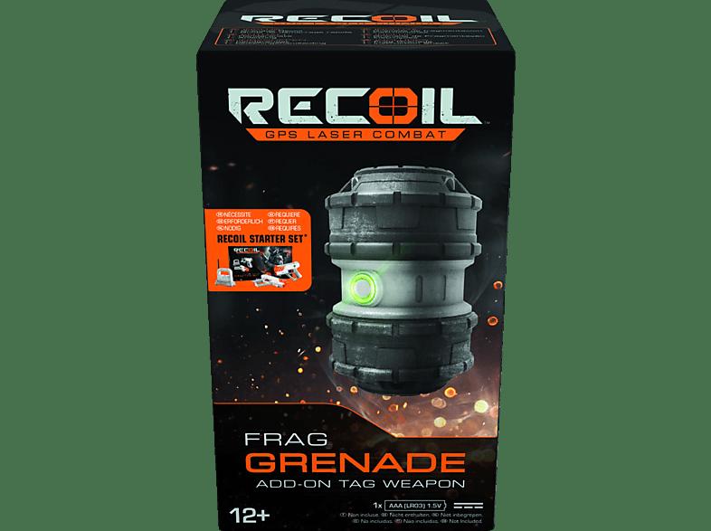 RECOIL Frag Grenade Zubehör für Laserpistole, Grau/Schwarz