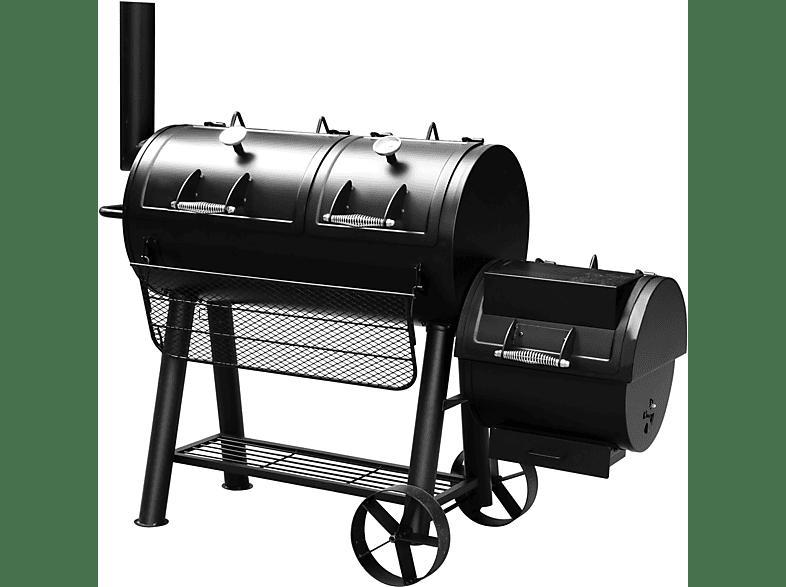 EL FUEGO AY 314 Smoker Minesota Kohlegrill, Schwarz