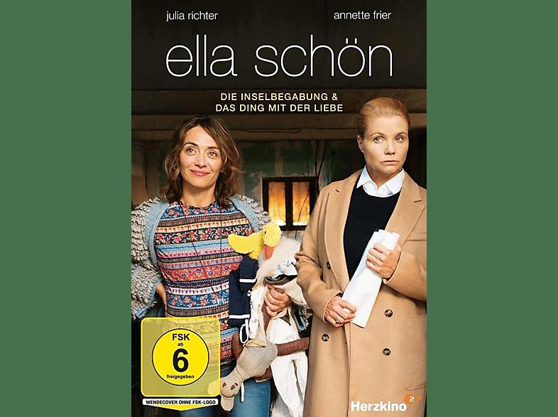 Ella Schön: Die Inselbegabung / Das Ding mit der Liebe [DVD]