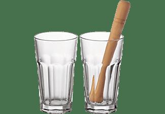LEONARDO 073756 Rockset Bar Gläser Transparent