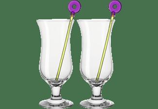 LEONARDO 069198 Hurricane Bar Cocktailgläser Transparent