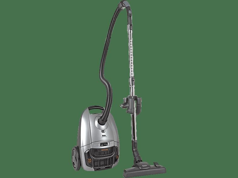 FAKIR 3663003 Artemis TS 150 Staubsauger, maximale Leistung 700 Watt, Silber Anthrazit)