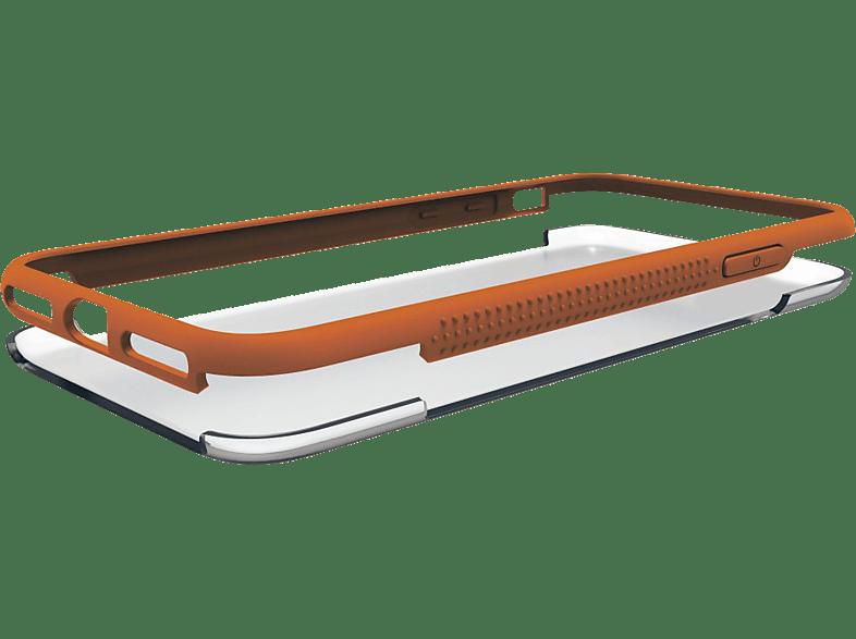 HAMA Frame , Backcover, Samsung, Galaxy A6 (2018), Polycarbonat / Thermoplastisches Polyurethan, Orange