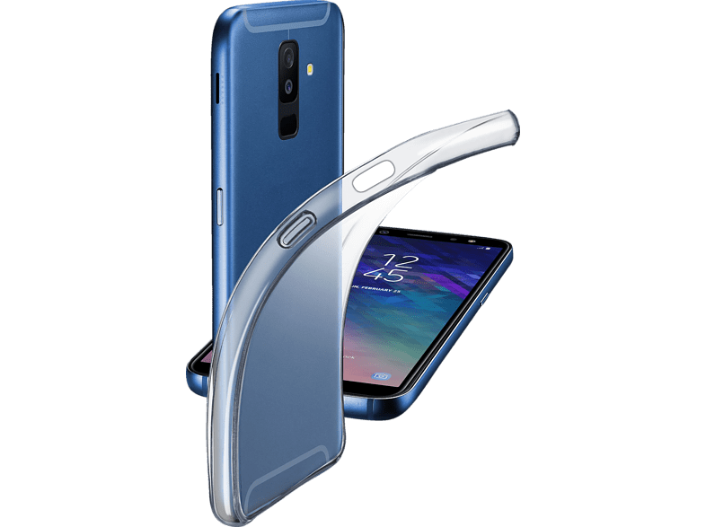 CELLULAR LINE FINE , Backcover, Samsung , Galaxy A6+ (2018), TPU, Transparent