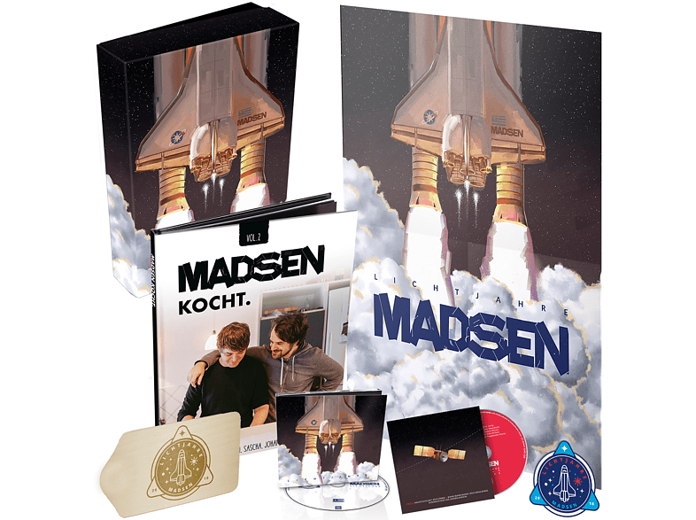 Madsen - Lichtahre (Box + Autogrammkarte exklusiv) [CD]