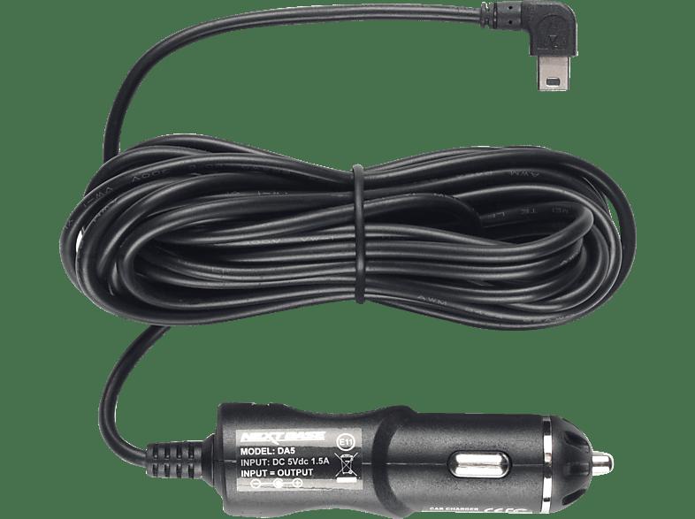 NEXTBASE Power Cable Stromkabel, Dashcam-Zubehör, Schwarz
