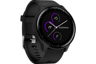 GARMIN  vivoactive 3 Music Smartwatch, Silikon, 127-204 mm, Schwarz