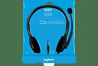 LOGITECH H111 Headset Kopfhörer Grau