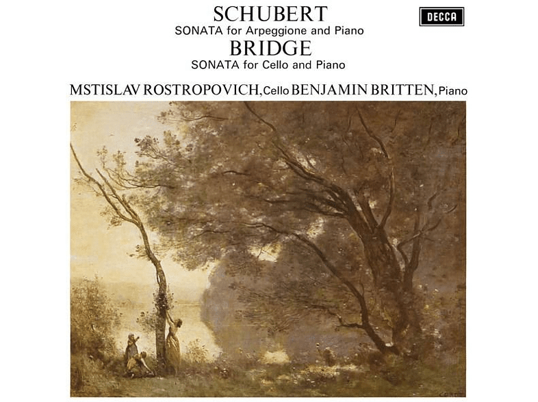 Mstislav Rostropovich, Edward Benjamin Britten - Sonata For Arpeggione And Piano / Sonata For Cello And Piano [Vinyl]