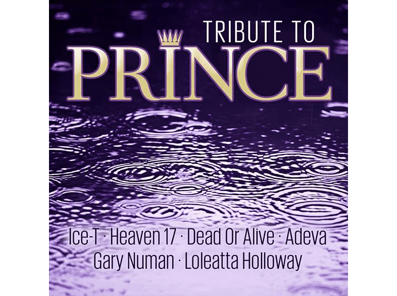 ICE-T-HEAVEN 17-DEAD OR ALIVE-GARY NUMAN-UVM. - Tribute To Prince [CD]
