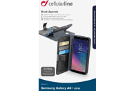 CELLULAR LINE BOOK AGENDA , Bookcover, Samsung, Galaxy A6+ (2018), Kunstleder, Schwarz