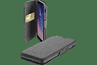 CELLULAR LINE Bookclutch , Bookcover, Samsung, Galaxy A6+ (2018) , Kunstleder, Schwarz