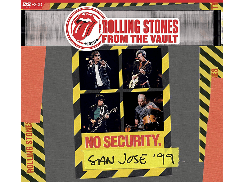 The Rolling Stones - From The Vault: No Security-San Jose 1999 (+2CD) [DVD + CD]